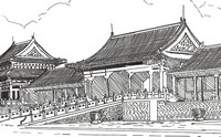 Adult Coloring Page Forbidden City