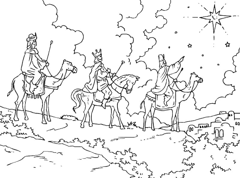More Coloring Pages Wise Men