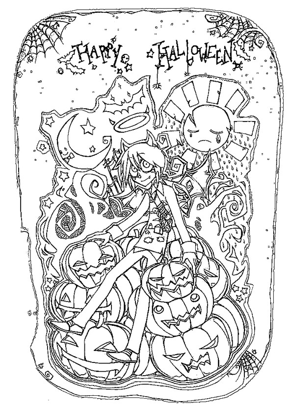 Bilder Zum Ausmalen Kostenlos 902650418907 furthermore Free Printable Halloween Coloring Pages as well 11 Happy Halloween Coloring Pages additionally Illustration Stock Tatouage F C3 A9erique De Cr C3 A2ne D Art Image58318243 also Royalty Free Stock Images Zombie  ic Line Art Isolated Vector Image34378929. on scary halloween coloring cards