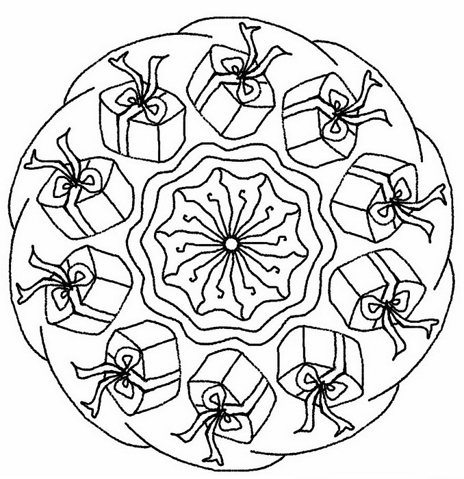 Christmas Gifts More Coloring Pages