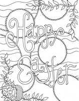 Ausmalen als Anti-Stress Happy Easter