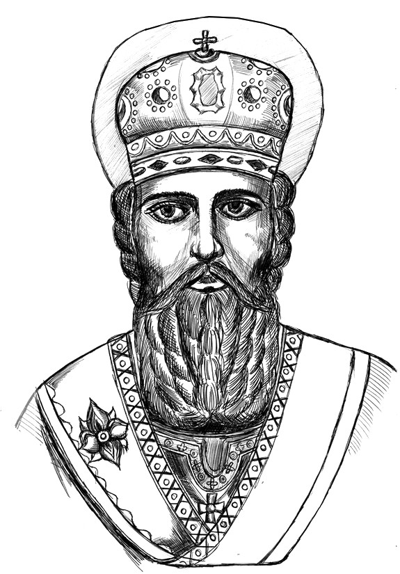 Art Therapy coloring page Saint Nicholas Day