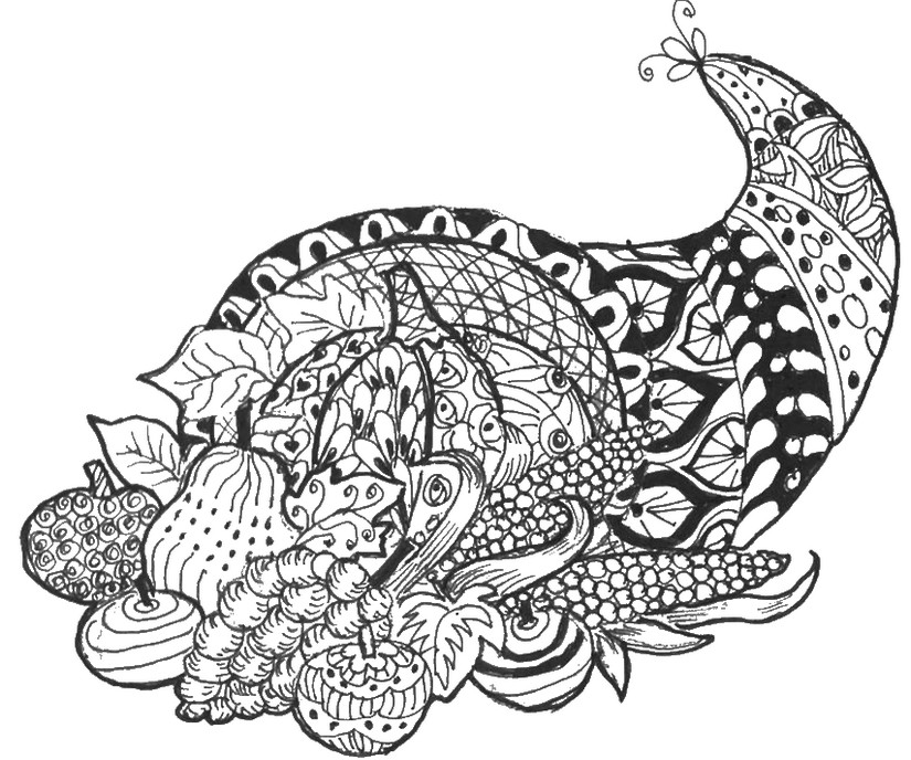 I M Thankful For Coloring Page