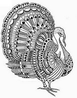 Adult Coloring Pages Thanksgiving