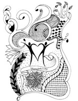 Art Therapy coloring page Father's day