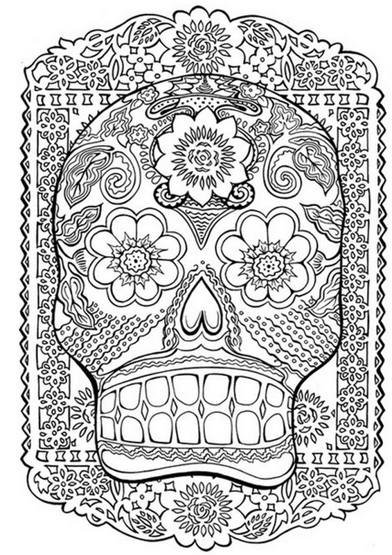 coloriage anti stress mexicain coloriage adulte art. Black Bedroom Furniture Sets. Home Design Ideas