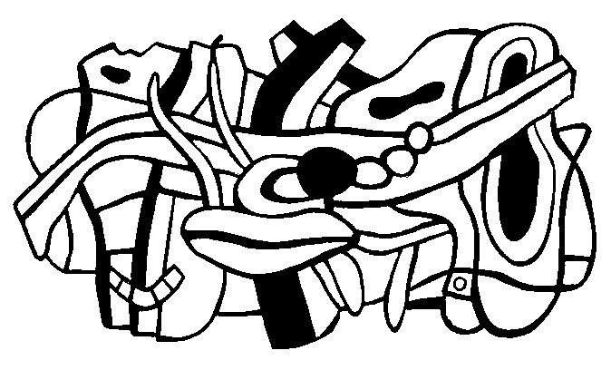 Art Therapy Coloring Page Fernand Leger Project For A Mural 6