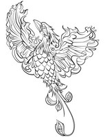 Art Therapy coloring page Phoenix