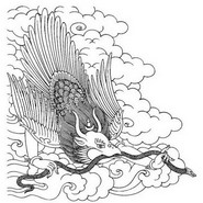 Art Therapy coloring page Garuda