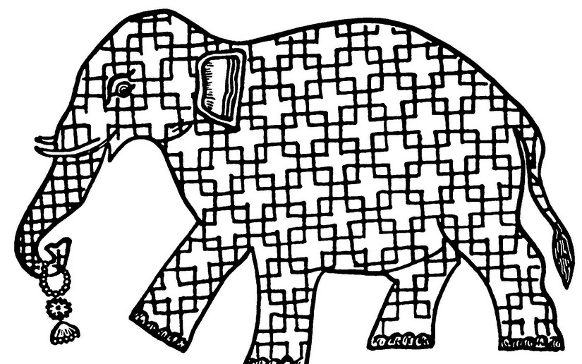 elephant more coloring pages india - Coloring Pages Indian Elephants