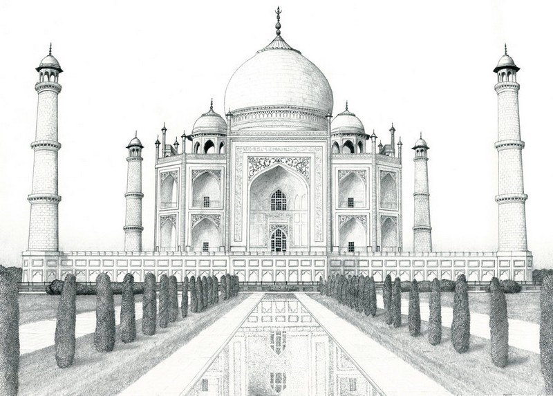 Disegno da colorar antistress India