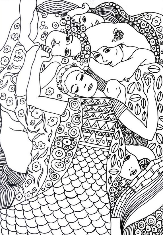 d arte mural coloring pages - photo #23
