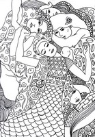 Art Therapy coloring page The Virgin